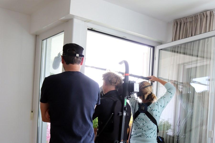 Querbeet Filmteam mit Tobias Bode