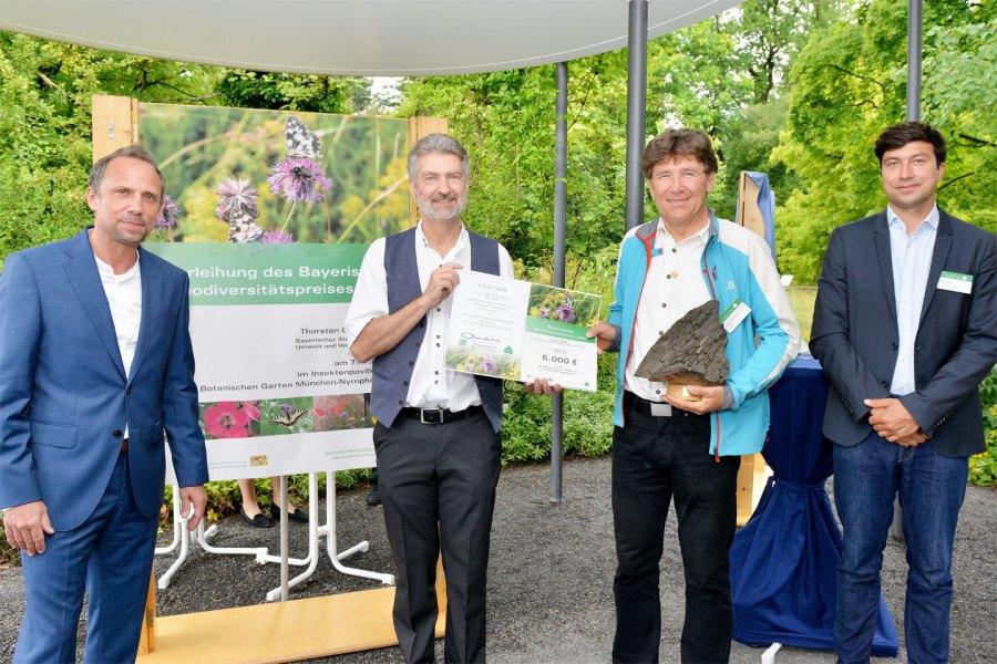 Der Hauptpreis geht an die Kreisgruppe Regensburg des BUND Naturschutzes in Bayern e.V.