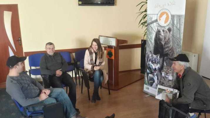 Meeting in Carpathian Natural Nature Park