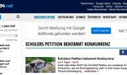 Landesrart Schulers Petition bekommt Konkurrenz