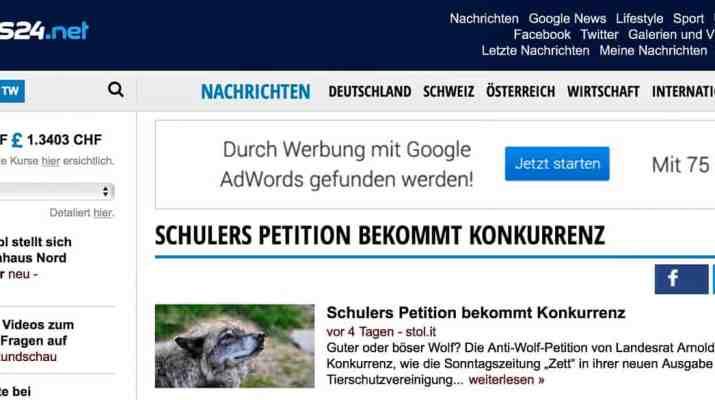 Landesrat Schuller Petition bekommt Komkurrenz © All rights reserved