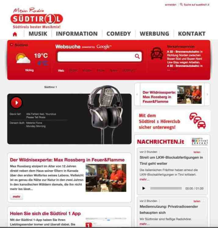 Radio Südtirol Morning show