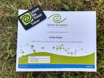 Leave no Trace trainer trraining