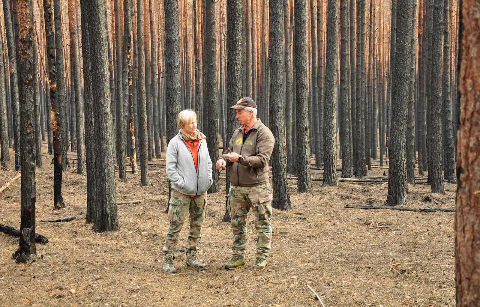 Forest Fire Treuebrietzen Brandenburg-22442 © Christoph Nowicki