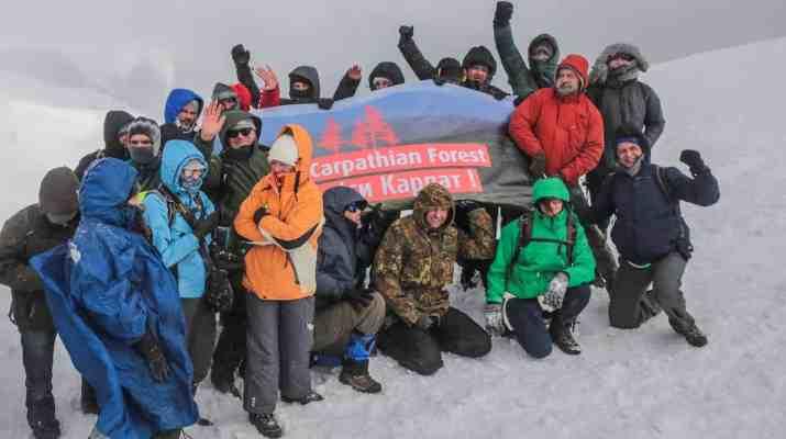 Svydovets Zelinskyy Ski Resort Protest - © All rights reserved