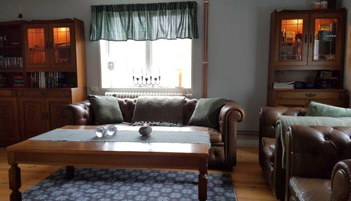 Living room Swedish Timber Cottage