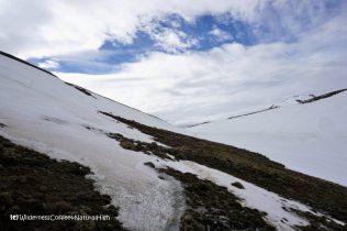 Mountain pass, Hveradalir geothermal valley, Kerlingarfjöll, Kjölur road, Iceland