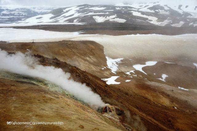 Snorrahver fumarole, Hveradalir, Kerlingarfjöll, Iceland
