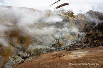 Steaming river, Hveradalir geothermal valley, Kerlingarfjöll, Kjölur road, Iceland