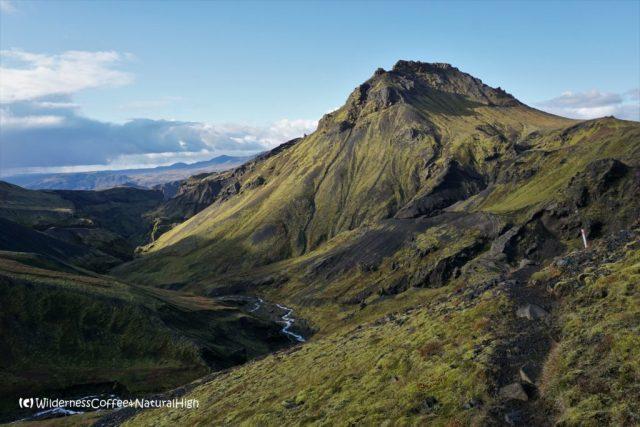 Útigönguhöfði and Hvannárgil canyon, hiking trail, Thórsmörk, Iceland
