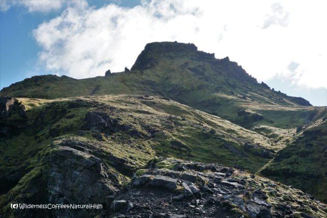 Útigönguhöfði hiking trail, Þórsmörk, Iceland.