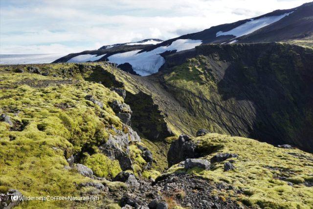 Heljakambur ridge, Fimmvörðuháls hiking trail, Þórsmörk, Iceland