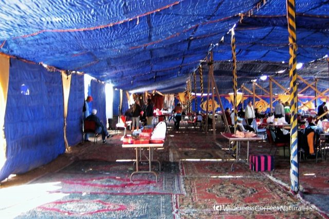 Eclipse bedouin tents at Al Salloum, Egypt