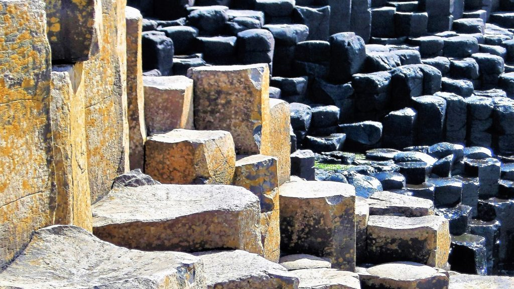 Columns, Giant's Causeway, Northern Ireland