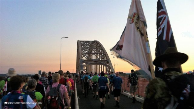 Waal bridge, Nijmegen, Vierdaagse, Walk of the World, The Netherlands