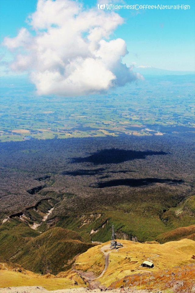 View from Mount Taranaki, North Island, New Zealand