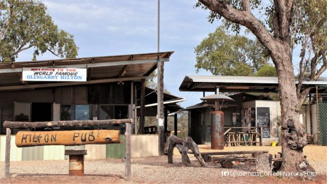 Glengarry Hilton bush pub, The Grawin, Lightning Ridge, New South Wales, Australia