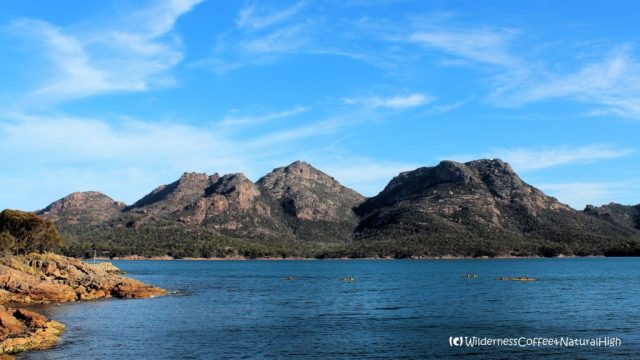 The Hazards, Freycinet peninsula, wilderness nature, Tasmania, Australia