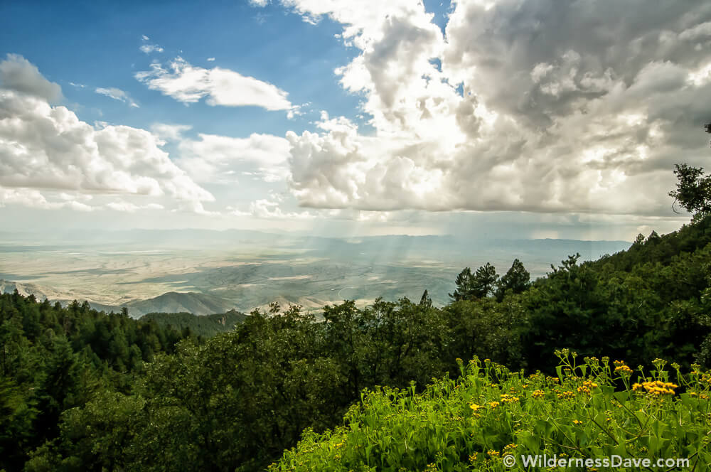 Mount Graham photography view