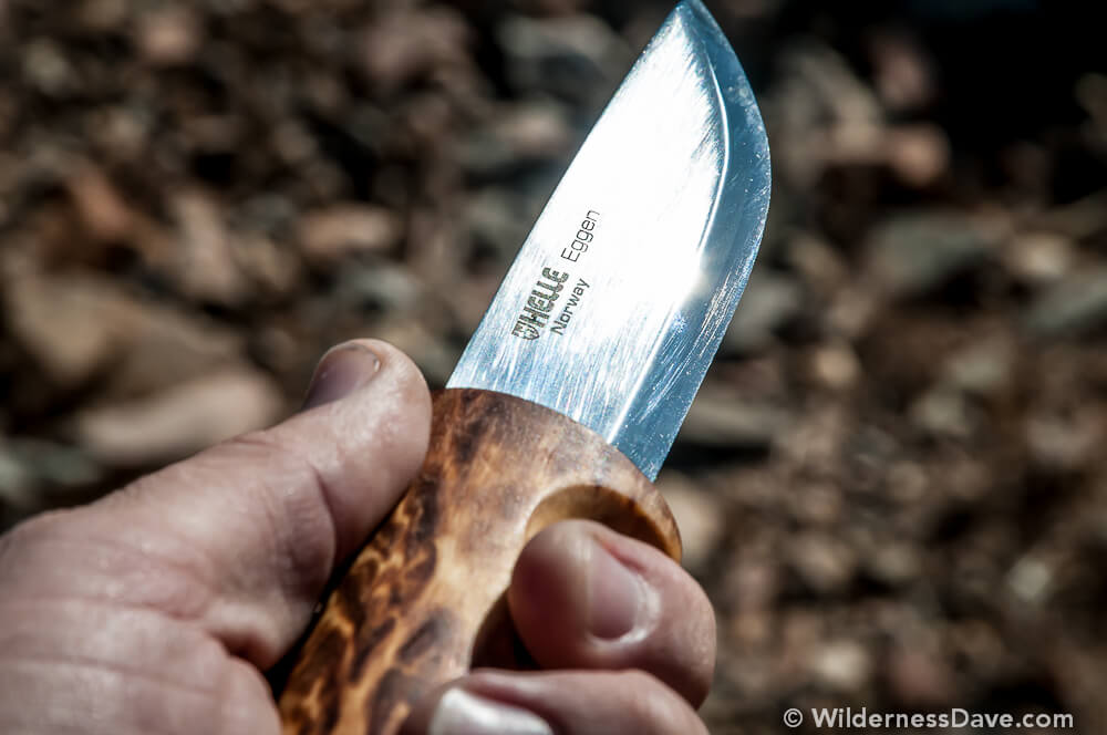 Helle Eggen Outdoor Knife - Sport Hansa