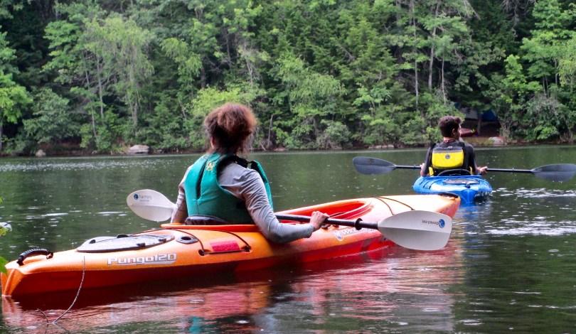 Kayaking Pawtuckaway Lake