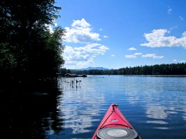 Kayaking-Conway-Lake