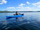 Kayaking-Conway-Lake