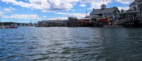 Kayaking Boothbay Harbor, Maine