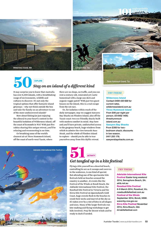 Australia Traveller Magazine