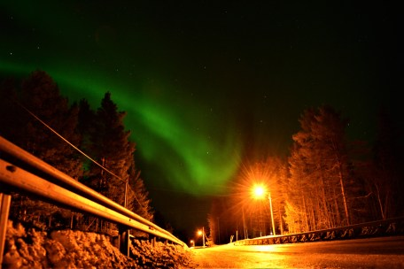 highway-northern-lights