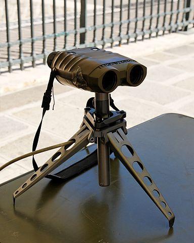 rangefinder on a tripod