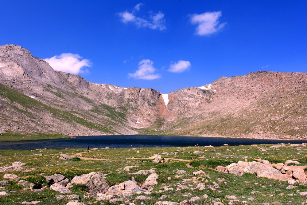 Driving to Mount Evans (A road into the sky) (3/6)