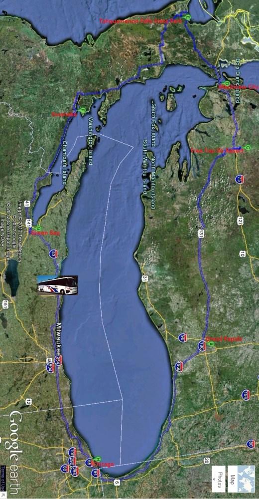 Lake Michigan Circle Tour (1/6)