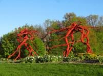 Root Sculpture At Minnesota Landscape Arboretum