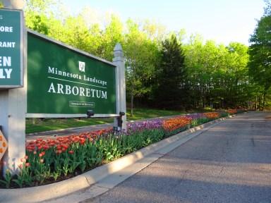 Minnesota Landscape Arboretum Entrance