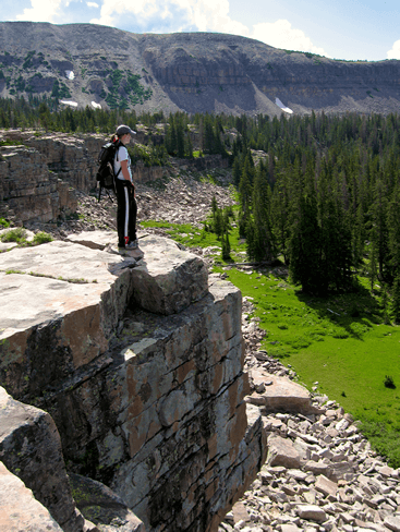 Naturalist Basin Overlook