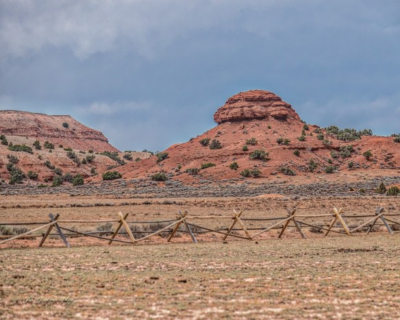 fence red rock-2481