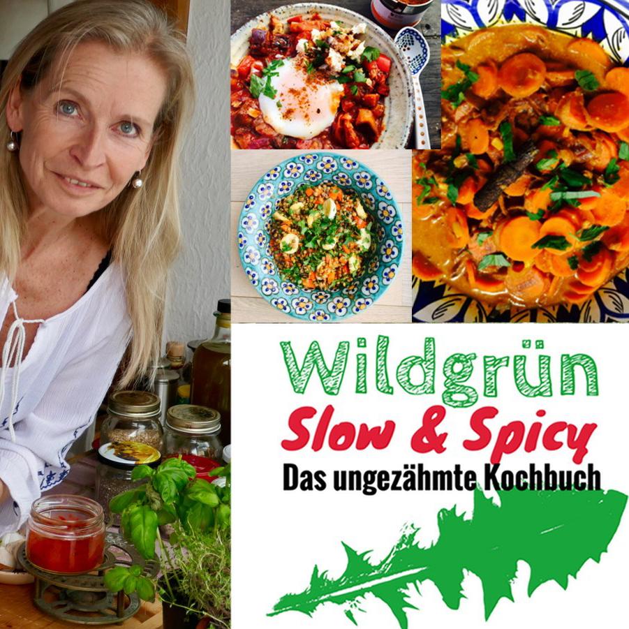Kochbuch Wildgrün - Slow & Spicy