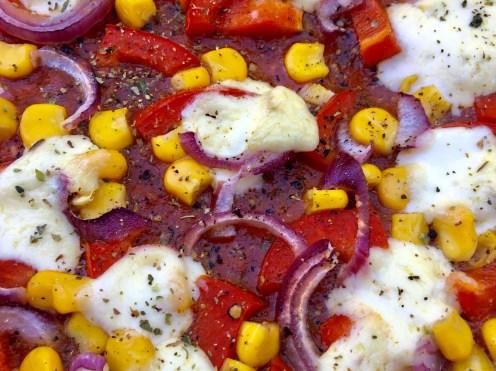 Pizza mexikanisch mit Chiltepin