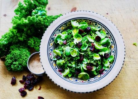 Raw-Food Salat mit Chili-Salz