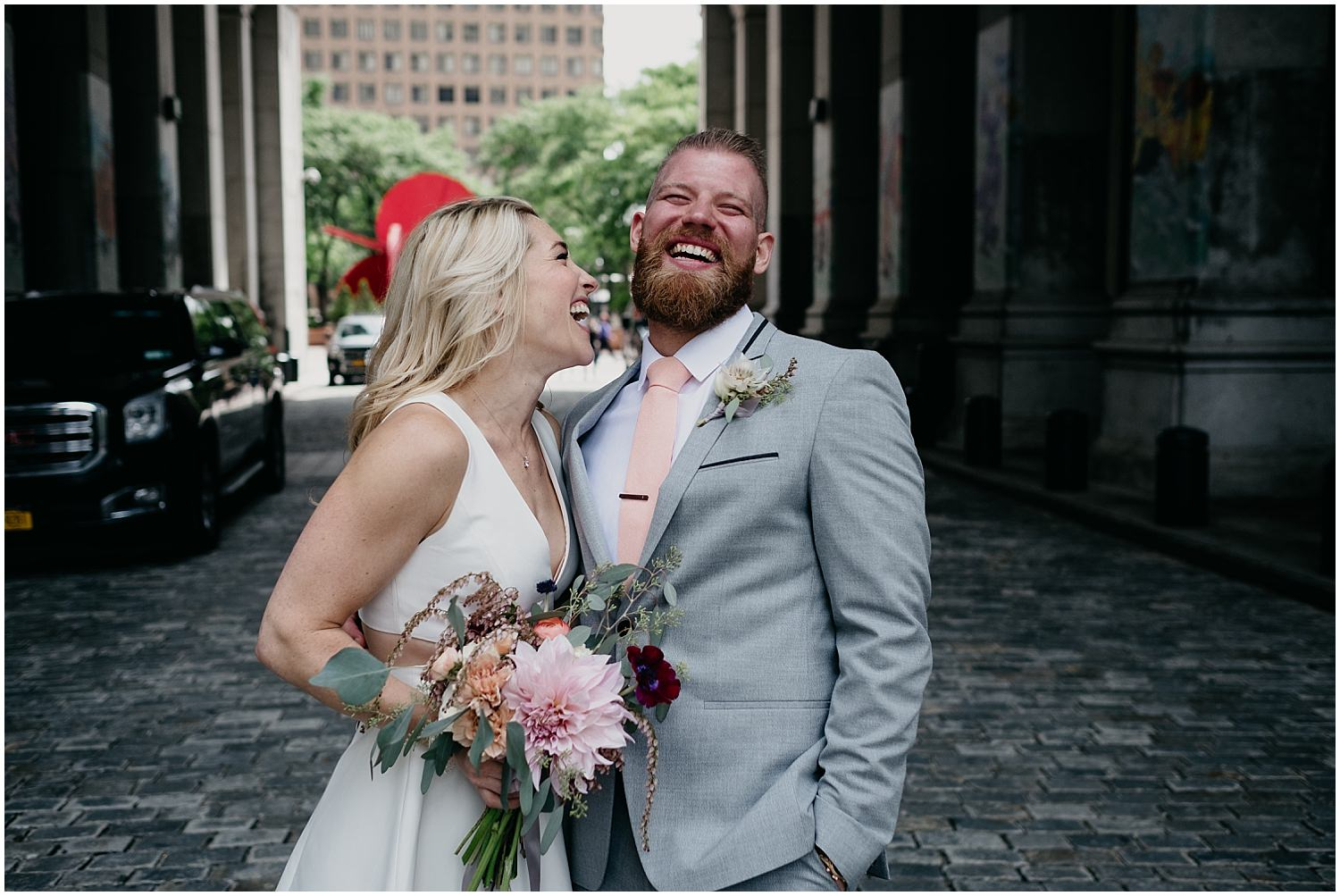 New York city hall elopement , City hall wedding photographer , NYC city hall wedding photos , City Hall wedding photos , nyc courthouse wedding , bridal pictures , bride and groom wilde scout photos