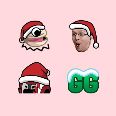 SyntaxSe7en Holiday Twitch Emotes