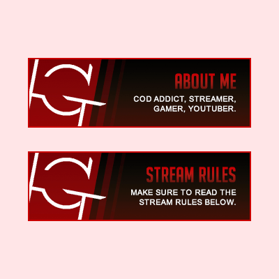 Haggerds Twitch Stream Panels