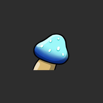 Jackie's Fortnite Shield Mushroom Twitch Subscriber Badge