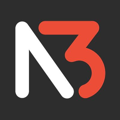 N3 Vapor Twitch Stream Logo, Stream Overlay, Branding, Emotes