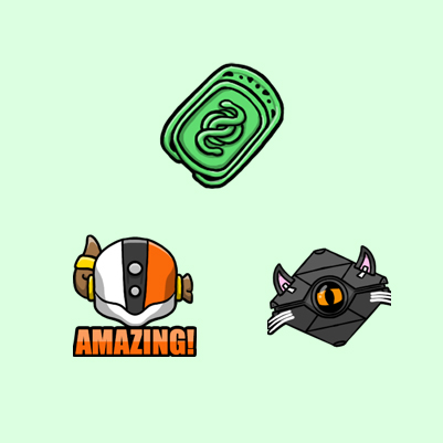 GrandDadPurp Destiny Twitch Emotes and Subscriber Badge designed by WildeThang