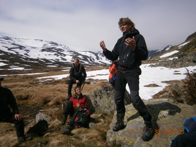 The head farmer of Iungsdalen mountain farm regales us with the true tale of local outlaw and hermit Eivind Fredlaus,