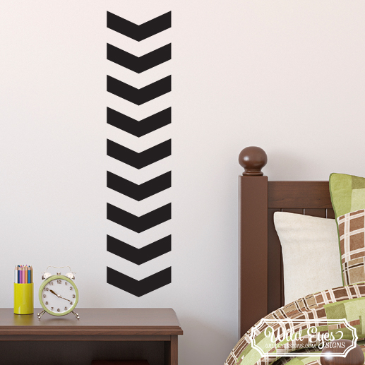 Chevron Vinyl Wall Decal