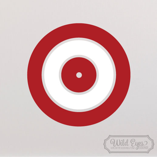 Arrow Target Vinyl Wall Decal