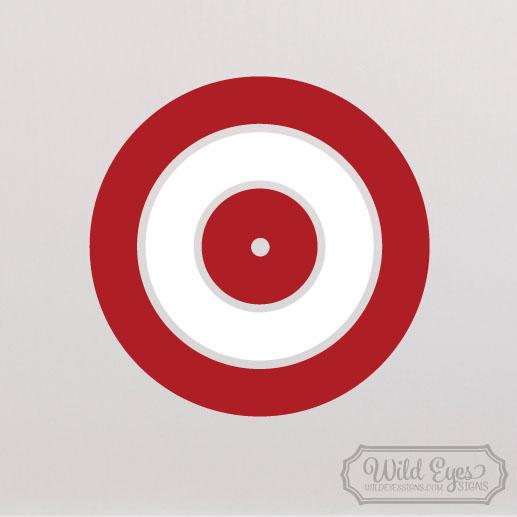 Arrow Target Vinyl Wall Decal